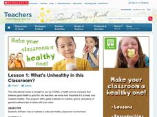 Lesson 1: What's Unhealthy in this Classroom? Lesson Plan
