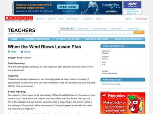 When the Wind Blows Lesson Plan Lesson Plan