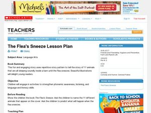 The Flea's Sneeze Lesson Plan Lesson Plan