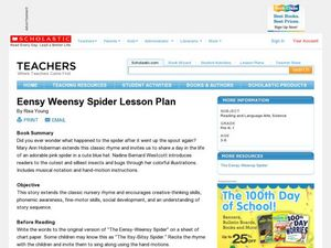 Eensy Weensy Spider Lesson Plan Lesson Plan