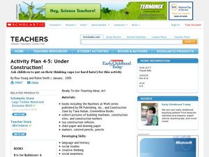 Activity Plan 4-5: Under Construction! Lesson Plan