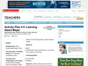 Activity Plan 4-5: Learning About Maps! Lesson Plan