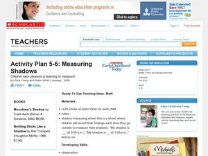 Activity Plan 5-6: Measuring Shadows Lesson Plan
