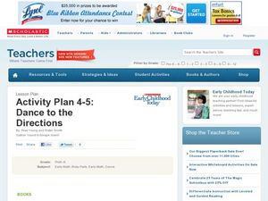 Activity Plan 4-5: Dance to the Directions Lesson Plan
