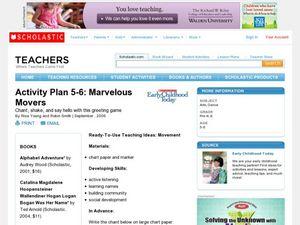 Activity Plan 5-6: Marvelous Movers Lesson Plan