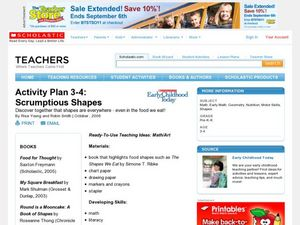 Activity Plan 3-4: Scrumptious Shapes Lesson Plan