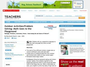 Outdoor Activities/Problem Solving: Math Goes to the Playground Lesson Plan