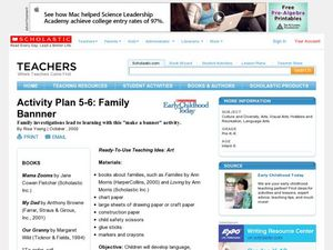 Activity Plan 5-6: Family Banner Lesson Plan