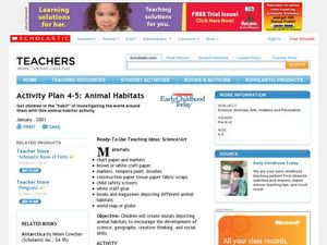 Activity Plan 4-5: Animal Habitats Lesson Plan