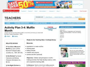 Muffin Month Activities & Project