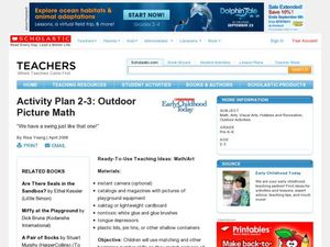 Activity Plan 2-3: Outdoor Picture Math Lesson Plan