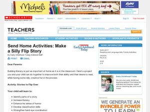 Make A Silly Flip Story Lesson Plan