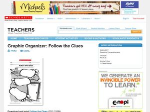 Graphic Organizer: Follow the Clues Lesson Plan