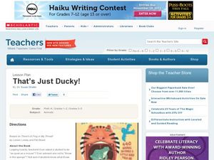 That's Just Ducky! Lesson Plan