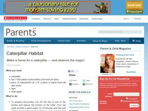 Caterpillar Habit Lesson Plan