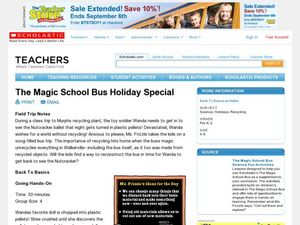 The Magic School Bus Holiday Special Lesson Plan