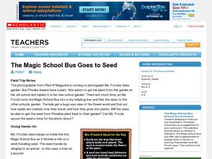 The Magic School Bus Goes to Seed Lesson Plan