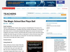 The Magic School Bus Plays Ball Lesson Plan
