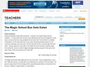 The Magic School Bus Gets Eaten Lesson Plan