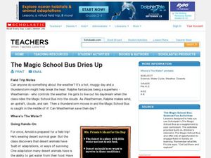 The Magic School Bus Dries Up Lesson Plan