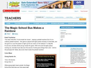 The Magic School Bus Makes a Rainbow Lesson Plan