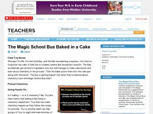 The Magic School Bus Baked in a Cake Lesson Plan