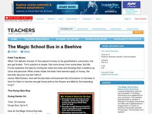 The Magic School Bus in a Beehive Lesson Plan