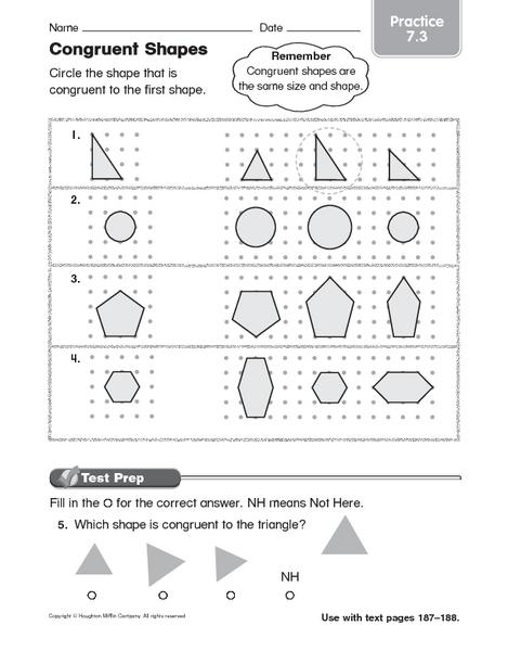all worksheets congruent shapes worksheets printable worksheets guide for children and parents. Black Bedroom Furniture Sets. Home Design Ideas