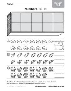 Numbers 13-14: Reteaching Worksheet