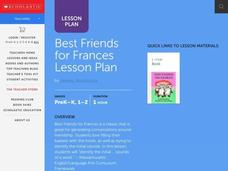 Best Friends for Frances Lesson Plan Lesson Plan