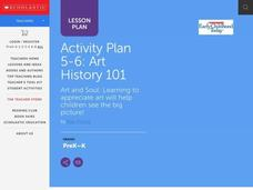 Activity Plan 5-6: Art History 101 Lesson Plan
