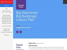 Big Machines! Big Buildings! Lesson Plan Lesson Plan