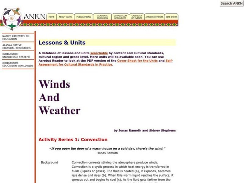 Convection Lesson Plan