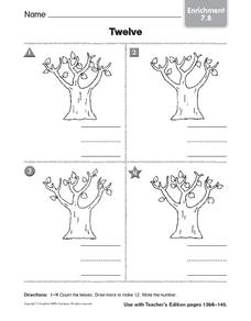 Twelve: Enrichment Worksheet