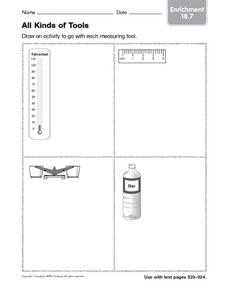 All Kinds of Tools enrichment 18.7 Worksheet