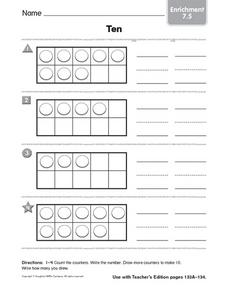 Ten enrichment 7.5 Worksheet
