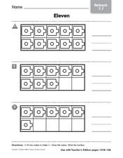 Eleven - Reteach Worksheet