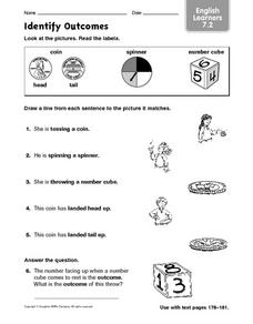 Identify Outcomes: English Learners Worksheet