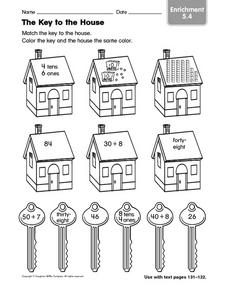 The Key to the House: Enrichment Worksheet