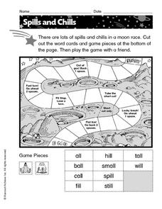 Spills and Chills Worksheet