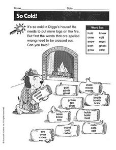 So Cold! Worksheet
