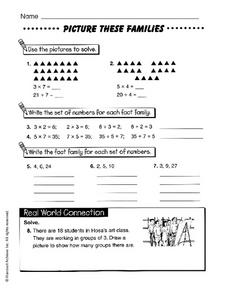 Picture These Families Worksheet