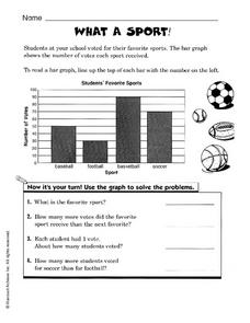 What A Sport Worksheet