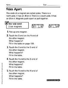 Poles Apart Worksheet
