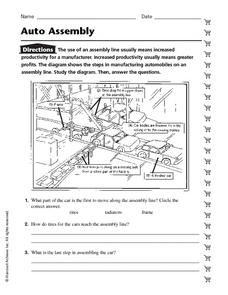 Auto Assembly Worksheet
