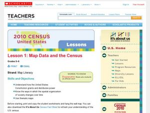Lesson 1: Map Data and the Census Lesson Plan