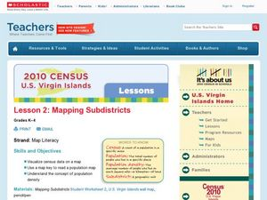 Lesson 2: Mapping Sub-districts Lesson Plan