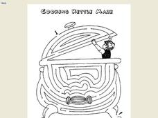 Cooking Kettle Maze Worksheet