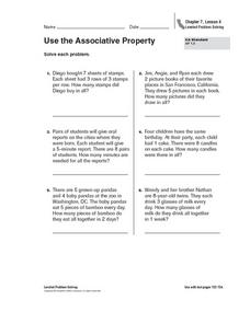 Use the Associative Property Worksheet