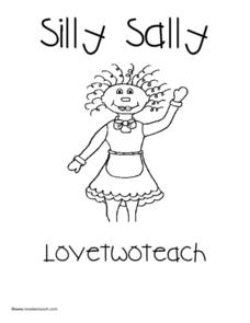 Silly Sally: Love Two Teach Lesson Plan